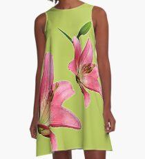 Lilies A-Line Dress