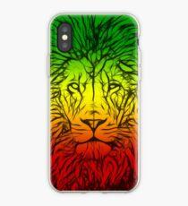 Vinilo o funda para iPhone Rasta Lion numero tres