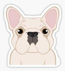 Frenchie - Cream Sticker