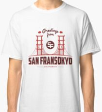 Big Hero 6: San Fransokyo Classic T-Shirt
