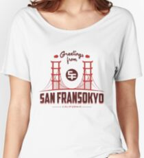 Big Hero 6: San Fransokyo Women's Relaxed Fit T-Shirt