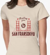 Big Hero 6: San Fransokyo Womens Fitted T-Shirt