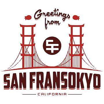 Big Hero 6: San Fransokyo by edwardfraser