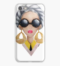 Golden Hoops  iPhone Case/Skin