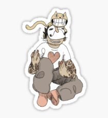 OFF - Tattooed Zacharie Sticker