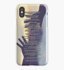 """My Poem """"Letting Go"""" iPhone Case/Skin"""