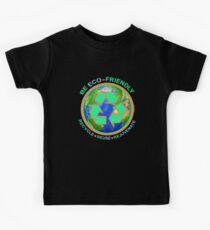 BE ECO-FRIENDLY: Recycle - Reuse - Rejuvenate (dark) Kids Tee
