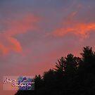 peachy spring sunset by LoreLeft27