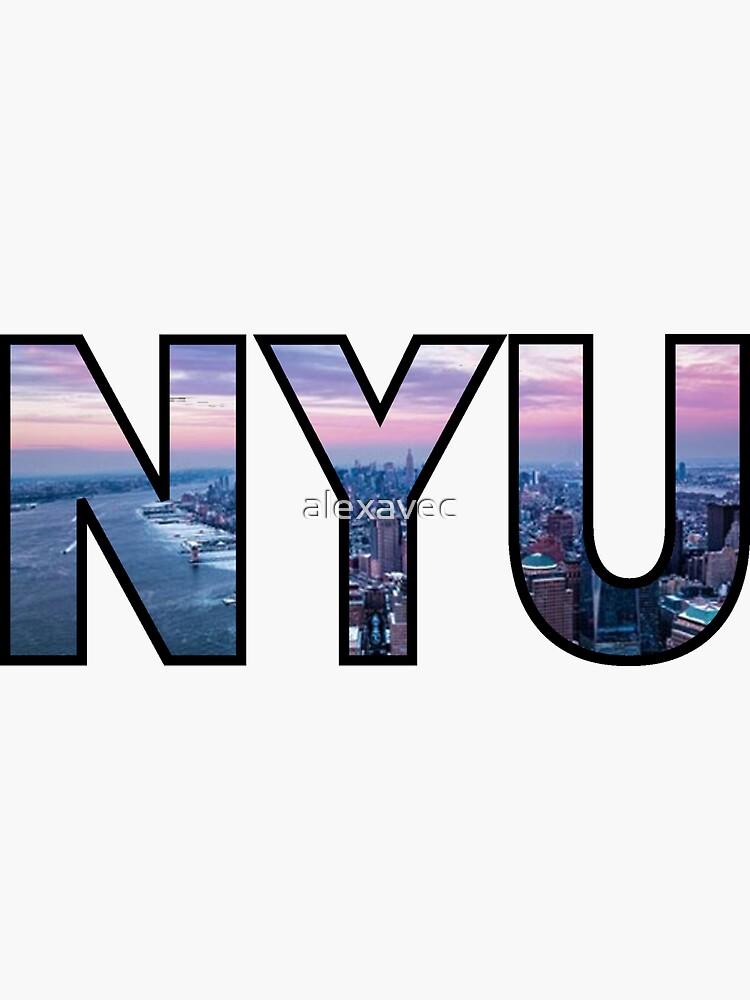 NYU New York Skyline de alexavec