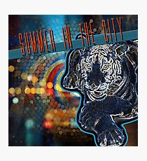 SUMMER IN THE CITY Photographic Print
