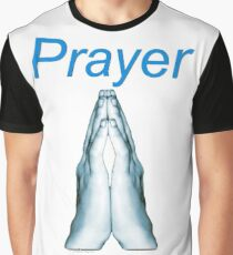 Prayer (for light colors) Graphic T-Shirt