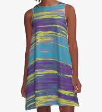 Abstract 100716(01) A-Line Dress
