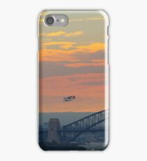 Plane - Sydney Harbour iPhone Case/Skin