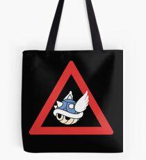 Danger Blue Shell Tote Bag