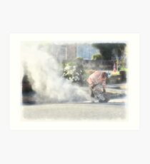 Passive Smoking Art Print