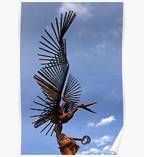 Bird Sculpture 1 Poster