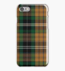 02160 Vaughan (Welsh Series) Tartan iPhone Case/Skin