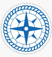 Outward Bound Compass Sticker