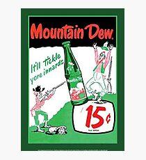 Mountain Dew Ad Photographic Print