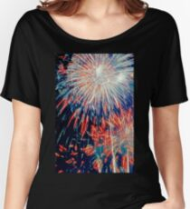 By the Rockets' Red Glare Women's Relaxed Fit T-Shirt