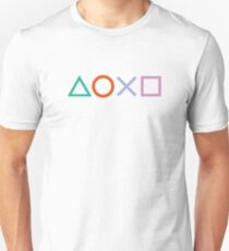 PS4 Controller Buttons T-Shirt