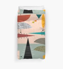 Mid-Century Modern Abstract #59 Duvet Cover