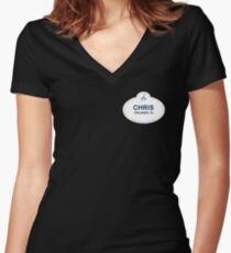 Chris From Orlando Women's Fitted V-Neck T-Shirt