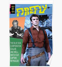 Firefly Vintage Comics Cover Poster