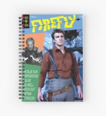 Firefly Vintage Comics Cover Spiral Notebook