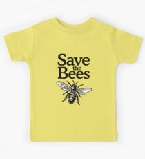 Save The Bees Beekeeper Quote Design Kids T-Shirt