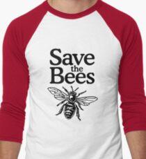 Camiseta ¾ estilo béisbol Save The Bees Beekeeper Quote Design