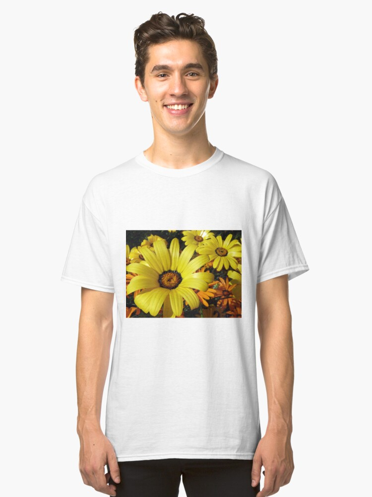 African Daisies - Springtime in Arizona Classic T-Shirt Front
