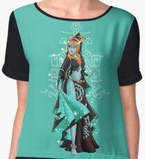 Gaming Princess: Midna (turquoise) Women's Chiffon Top