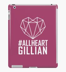 #AllHeartGillian - Wire on Black  iPad Case/Skin