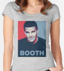 Booth Women's Fitted Scoop T-Shirt