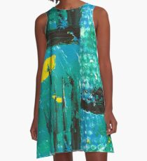 City of Industry A-Line Dress