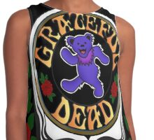 Grateful Dead Skull and Bear Contrast Tank