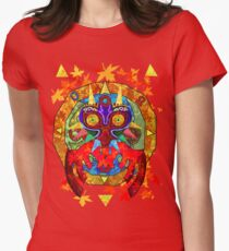 Majora's Fall Women's Fitted T-Shirt