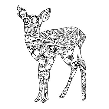Floral Fawn by Movement