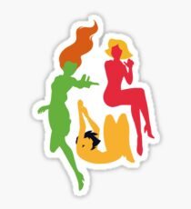 Totally Spies - Minimalist Six Sticker