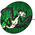 Mutant Zoo - Panda Mantis by dezignjk