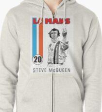 LeMans Steve McQueen Zipped Hoodie