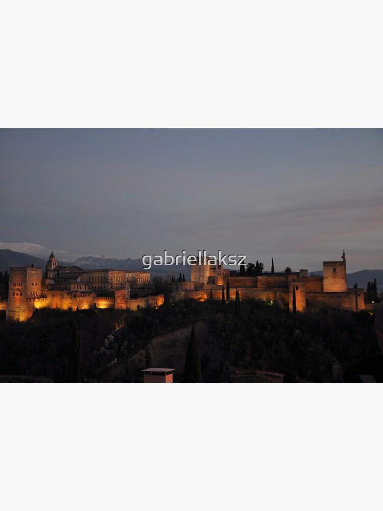 The Alhambra -Granada, Spain by gabriellaksz