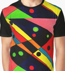 Retro Abstract Graphic T-Shirt