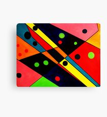 Retro Abstract Canvas Print