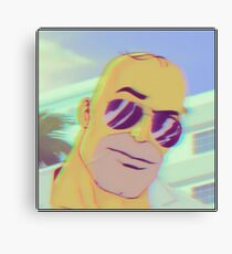 Handsome Homer Canvas Print