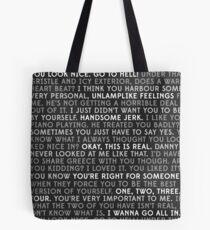 mindy + danny Tote Bag