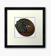 Mutant Zoo - Peacockroach Framed Print