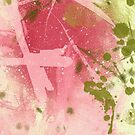 abstract pinkgreen by Marlies Odehnal