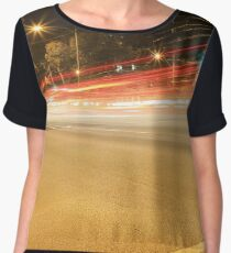 Lights, Travel Speed and Colour Chiffon Top